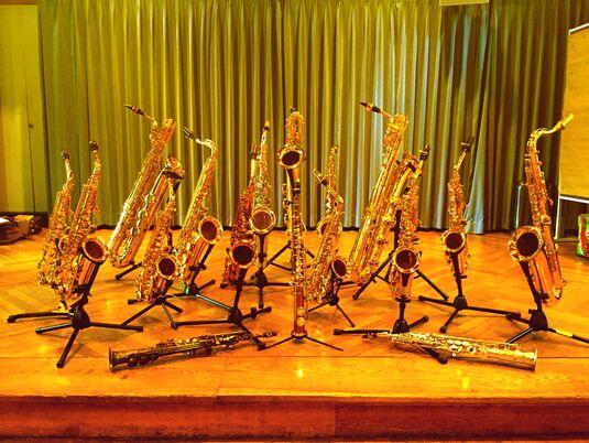 1. Musikwoche für Saxophon, Querflöte & Klarinette
