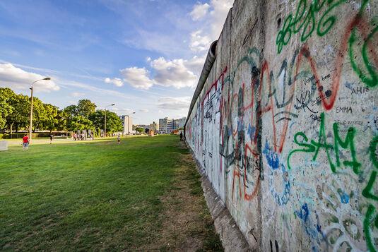 Die Mauer ist weg!