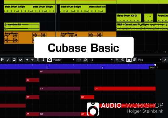 Audio-Workshop: Cubase Basic