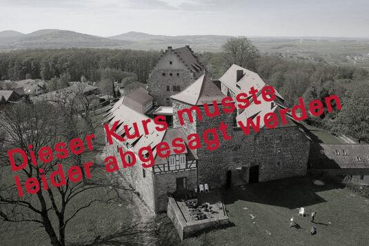 Pfingstmalen auf der Burg