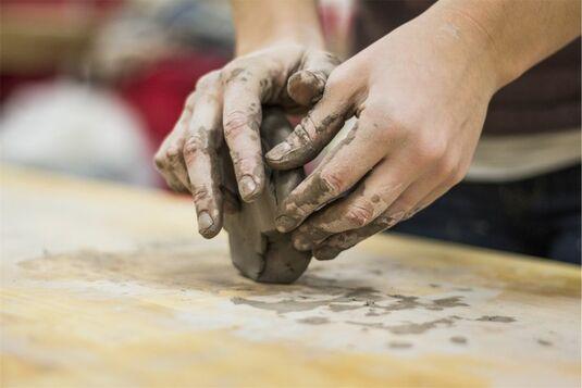 Experimentelles Brennen - eine Keramikwerkstatt